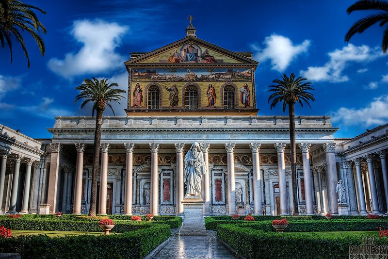 The Papal Basilica Of St Paul Outside The Walls Italian Basilica Papale Di San Paolo Fuori Le Mura Commonly Known As St Paul S Outside The Walls Is One Of