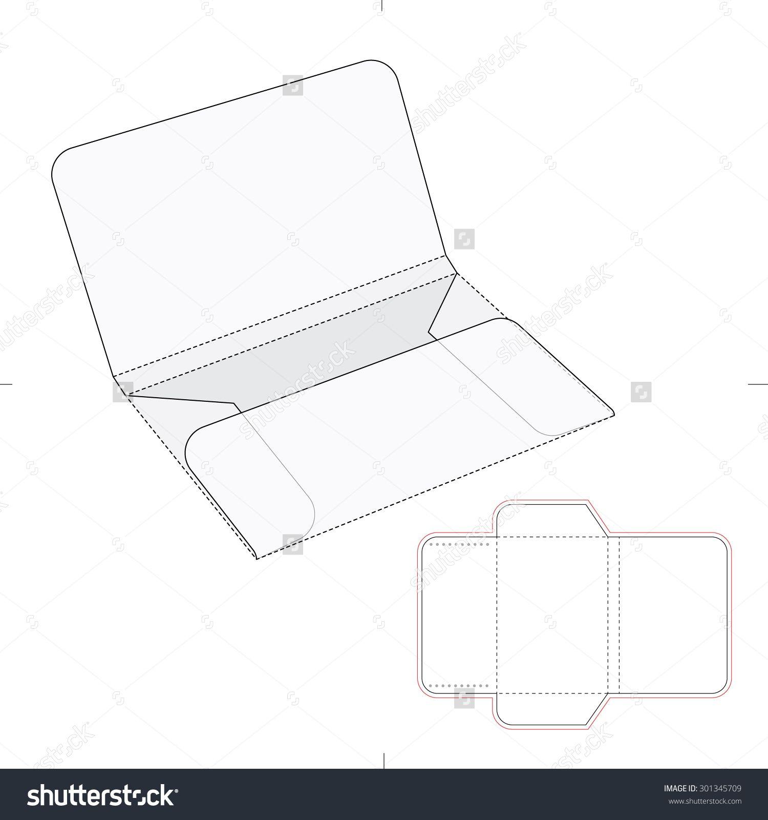 Envelope folder with blueprint template stock vector illustration envelope folder with blueprint template stock vector illustration 301345709 shutterstock malvernweather Images