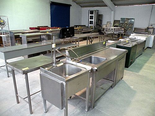 Exposici n de mobiliario de hosteler a mercaxollo st - Cocinas industriales de segunda mano ...
