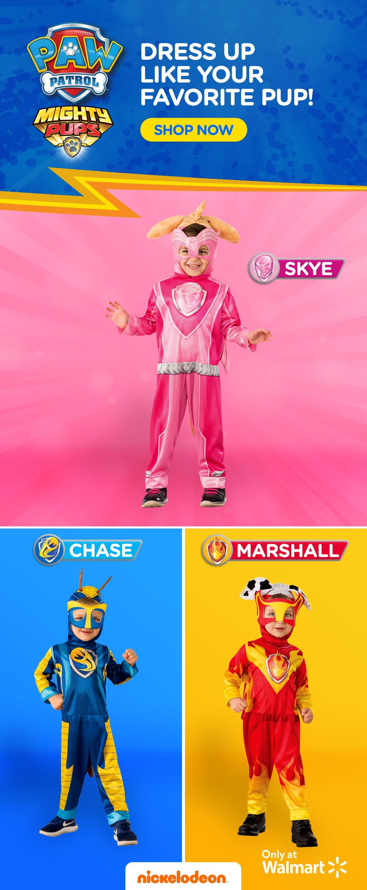 1c20ee13 The perfect Halloween costume for your PAW Patrol fanatic! Set your kids  apart from all