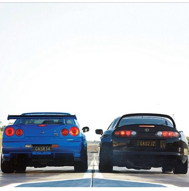 Skyline Vs Toyota Supra Really Want To See Dis Race!