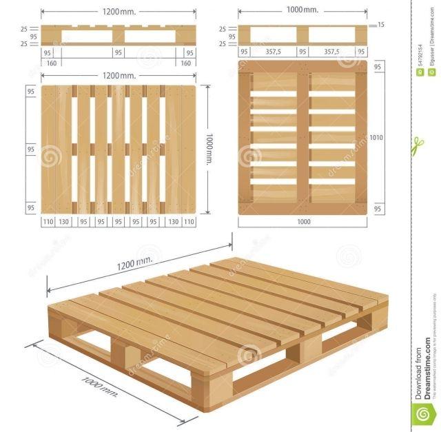 wooden pallet dimensions size image wooden shipping pallet. Black Bedroom Furniture Sets. Home Design Ideas