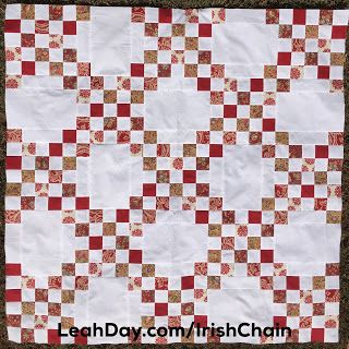 Double Irish Chain Free Quilt Pattern Irish Chain Quilt Pattern Double Irish Chain Quilt Quilt Patterns Free