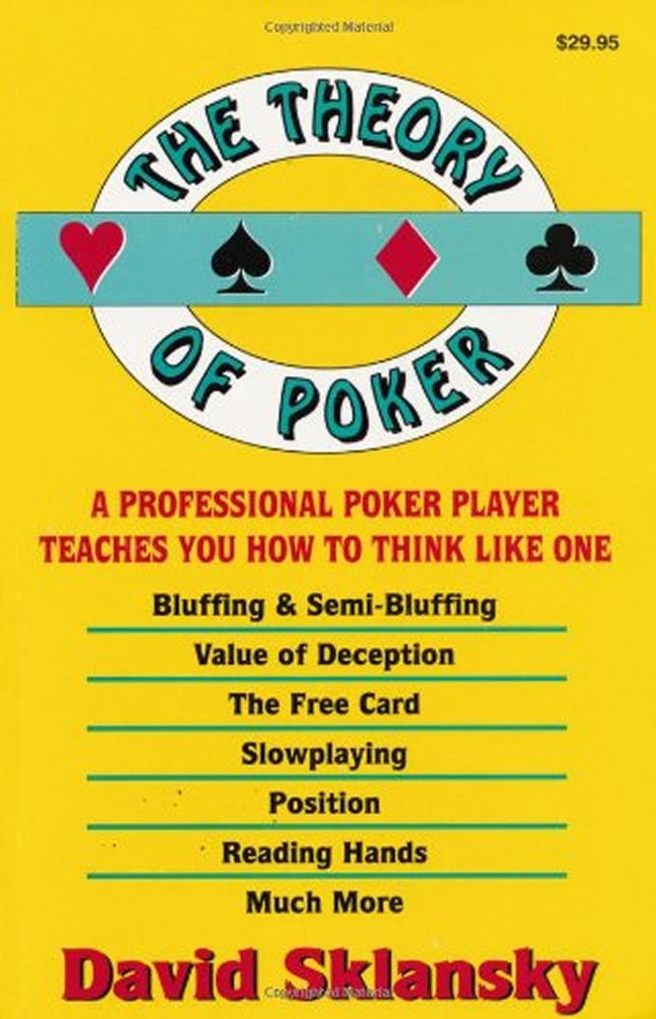 ?The Theory of Poker , Ad, Poker, books, download,