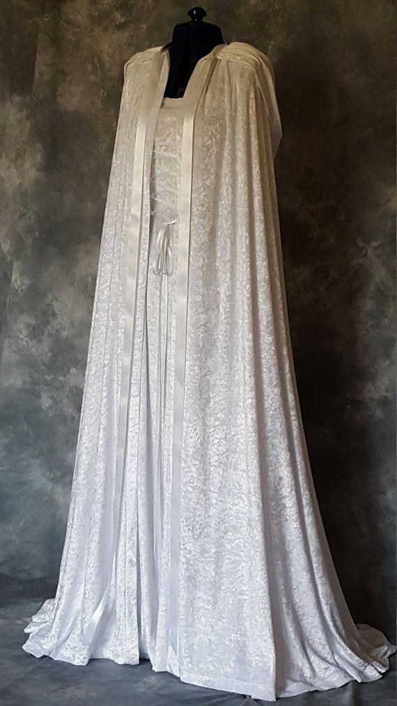 Medieval Cloak And Dress Handfasting Dress And Cloak