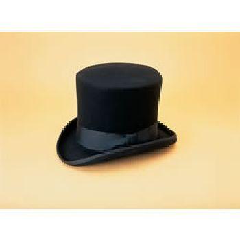 Large Black Top Hat 22 3 8 23 Black Top Hat Top Hat Large Black