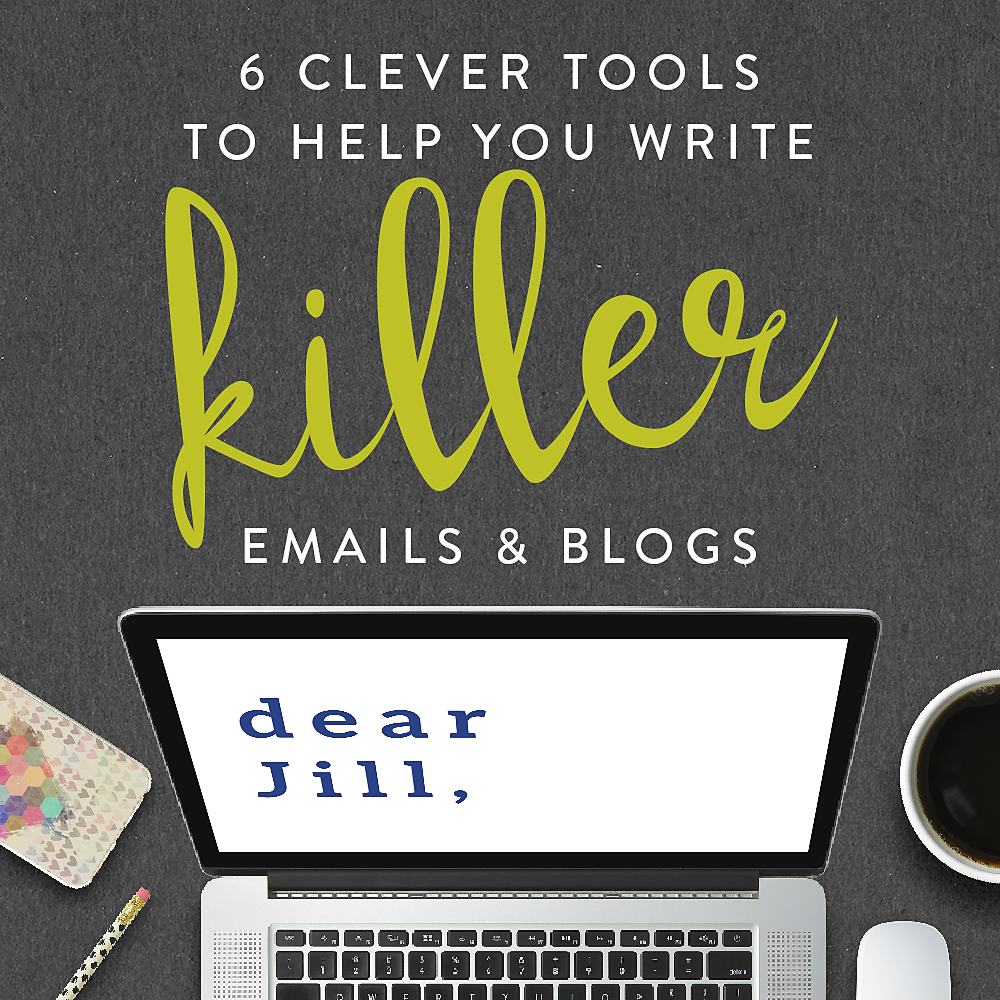 6 clever tools to help you write killer emails & blogs - Killer blog post, Email subject lines, Example interview questions, Writing, Job search tips, Some words - I have a little confession  Sometimes I can be a bit lazy about writing emails  I readily admit that half the time the emails I send out tend to be rush jobs  I don't tend to rush my blog posts as much, but often I'm so eager to get it out there, I throw some words on the page, have a quick