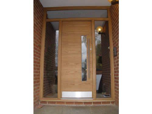 Wonderful Lennox Hardwood Door, Oakhill Gardens, Weybridge, Surrey