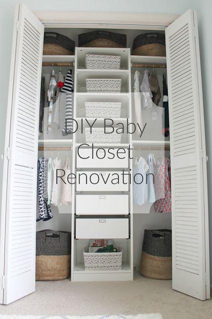 The Reedy Review: Our Nursery Closet Renovation