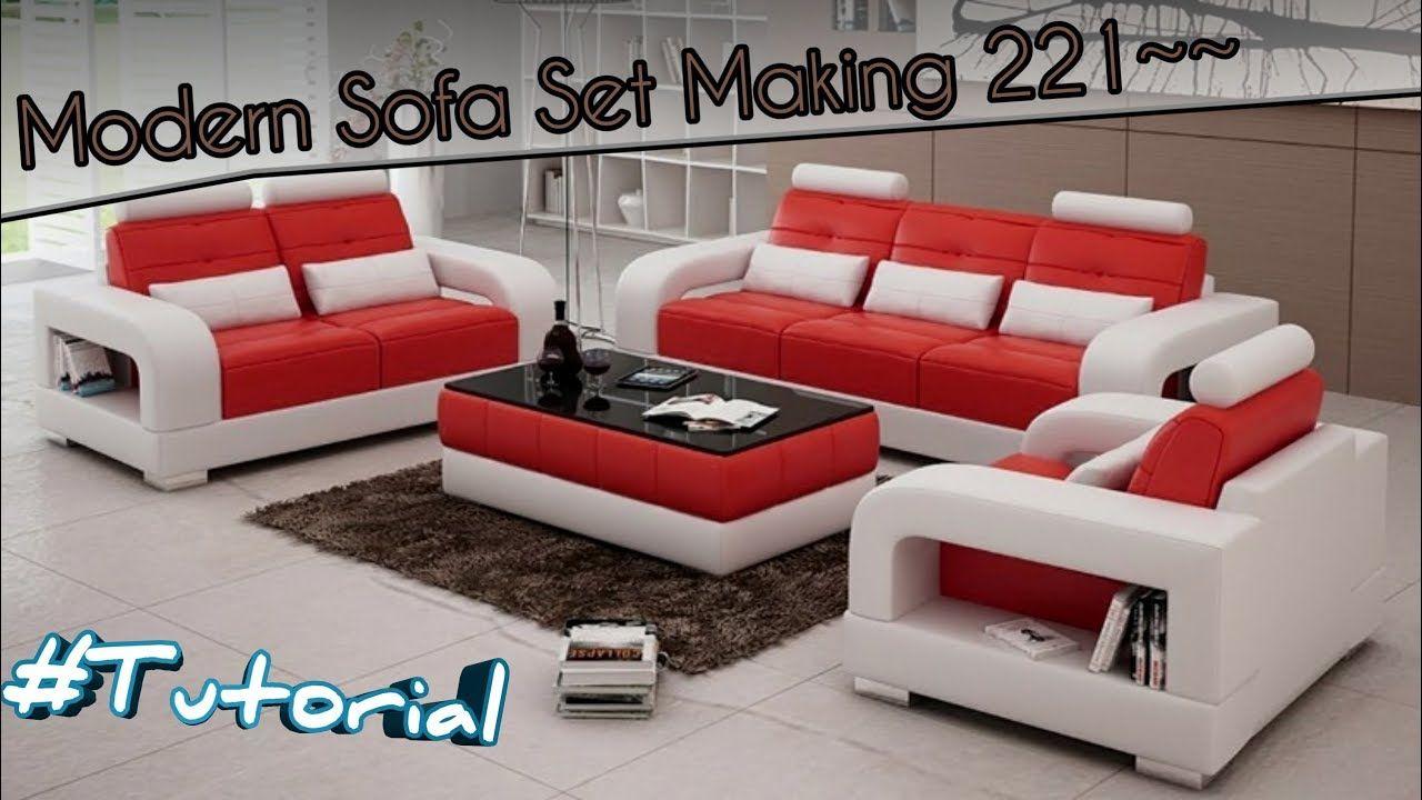 Tutorial Cara Membuat Sofa Set Modern Design 221 From Indonesia Youtube Sofa Set Modern Leather Sofa Leather Sofa Set Cara membuat kursi sofa