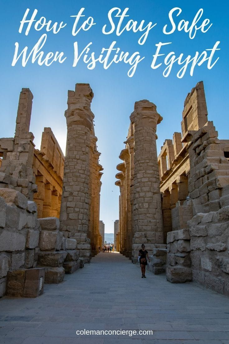 Is it safe to visit Egypt as a solo female traveler? Don't let unresearched fear stop you from your dream vacation. This guide will tell you everything you need about travel safety, common scams, and things you should and should not do in Egypt. Read on to learn what you need to know to make this bucket-list destination a reality... #Egypt #travelsafety #Bucketlist #Africa #solofemaletravel #traveltips #dreamdestinations #femaletravel