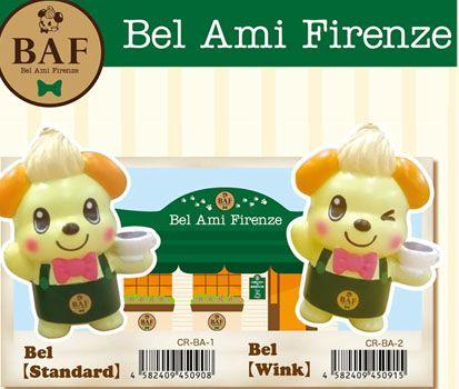Squishy Tag Ideas : New 2014 BAF - Bel Ami Firenze squishy The BAF series barista mascot - Bel squishy in 2 styles ...