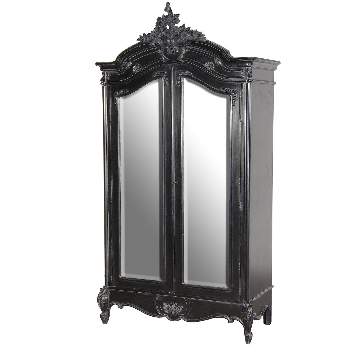 Sy Boo 2 Door Mirrored Armoire By The French Bedroom