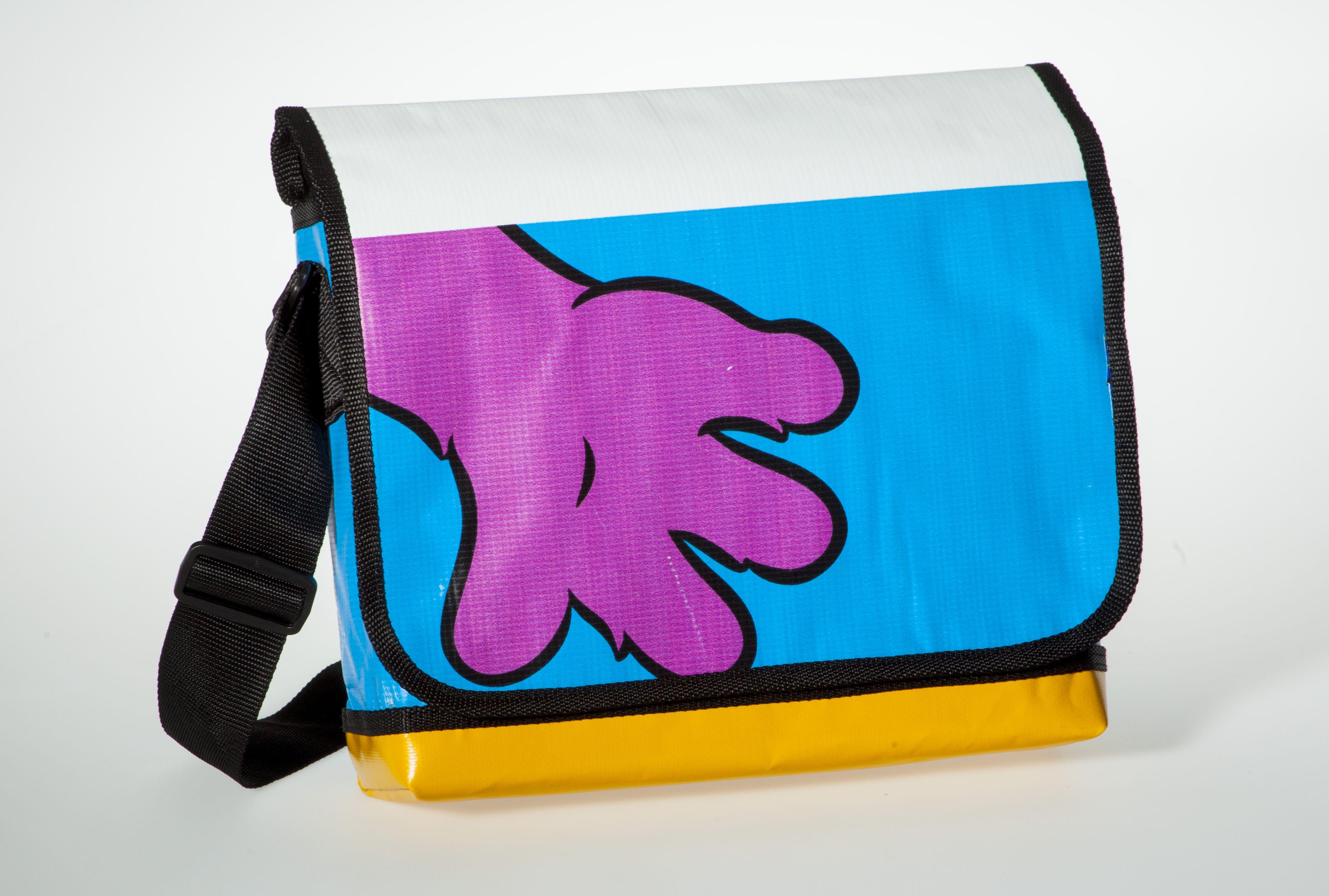 Messenger Bagy: pink hand