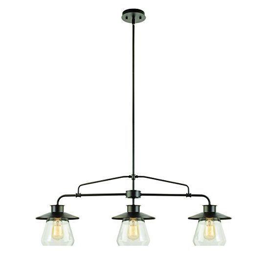 Pendant Globe Light Contempory Vintage Factory Barn Hanging Lighting Fixture #Globe #Contemporary