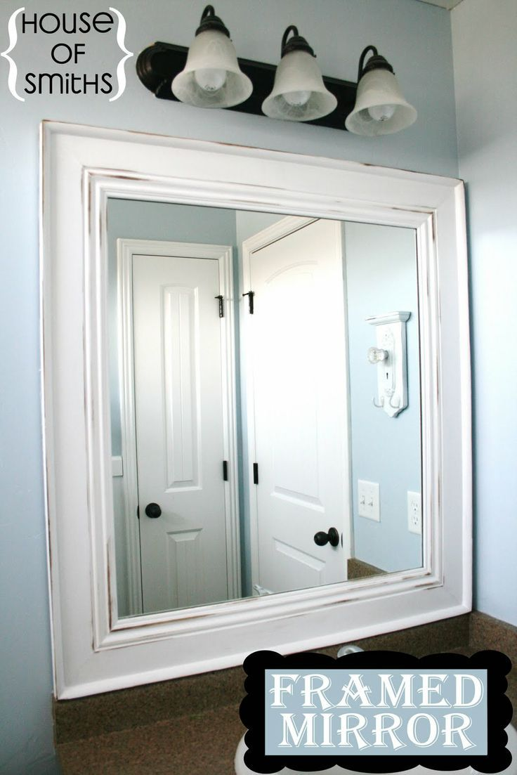25+ Best Bathroom Mirror Ideas For a Small Bathroom | Bahtroom ...