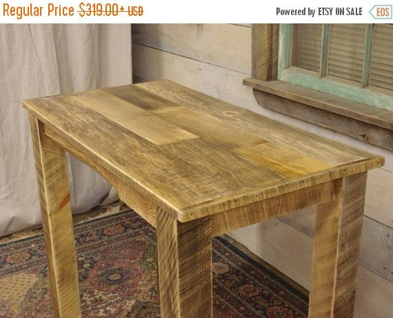 Exceptionnel Rustic, Handmade, Farmhouse Table This Is A Very Unique Table Which Is  Handmade Using Rustic, Rough Cut, Mill Lumber Which Has Been Seasoned  Perfectly To ...