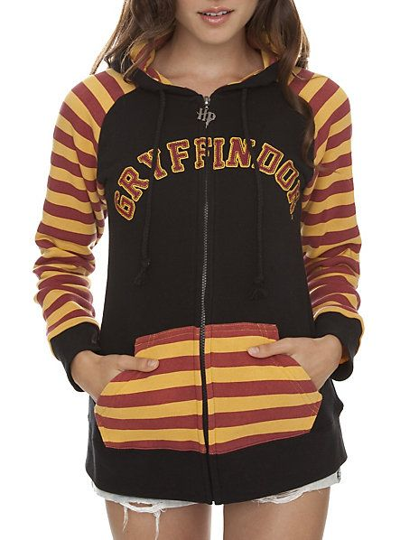 Harry Potter Gryffindor Crest Girls Zip Hoodie