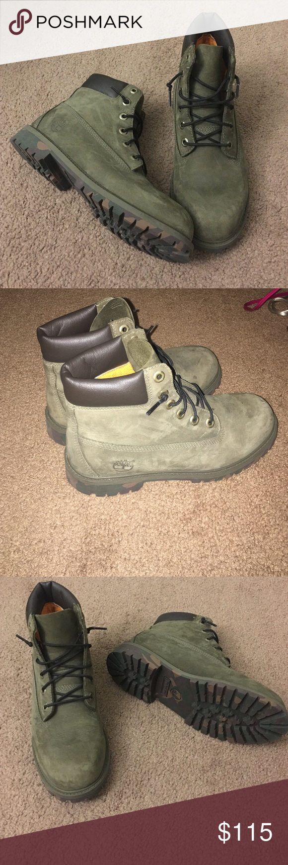 With Timberlands Army An Green Olive sxdtrhQC