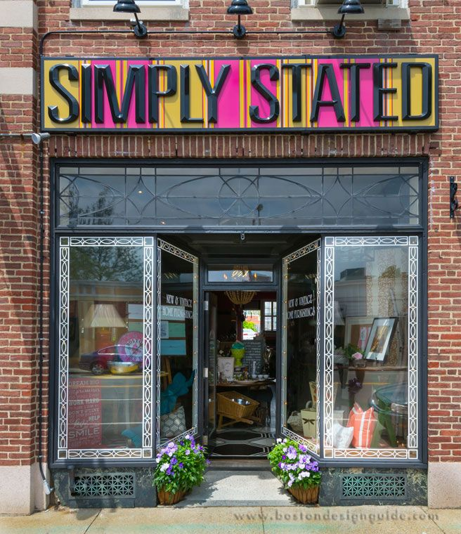 Simply Stated | Vintage and antique home accessories in Needham, MA ...