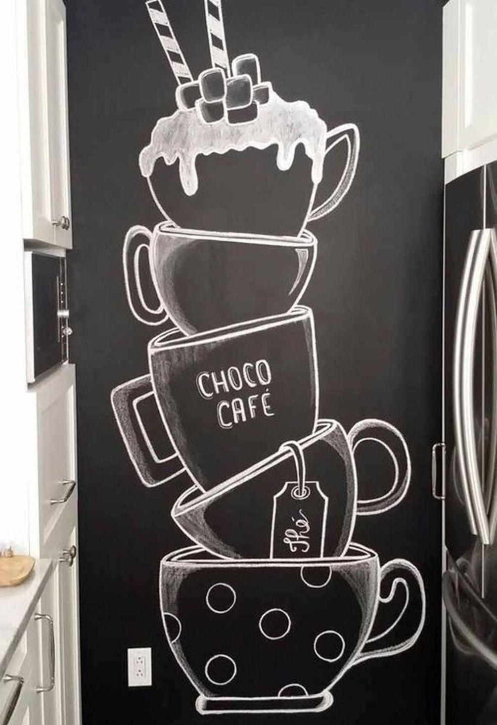 20 Creative Chalkboard Kitchen Decoration To Stand Out In 2020