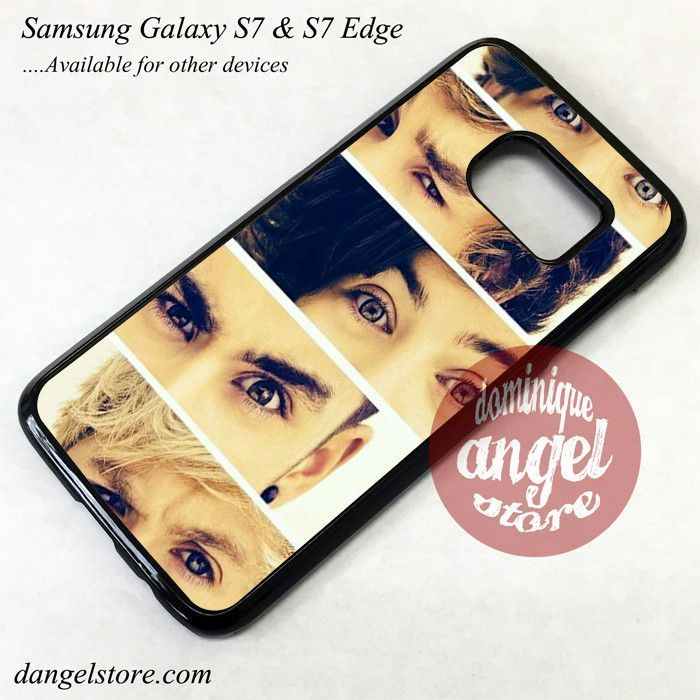 One Direction The Eyes Phone Case for Samsung Galaxy S7 and Galaxy S7 Edge