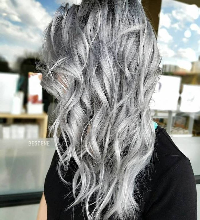 Dyed Hair Gray Valuable Advice And Helpful Care Tips Advice