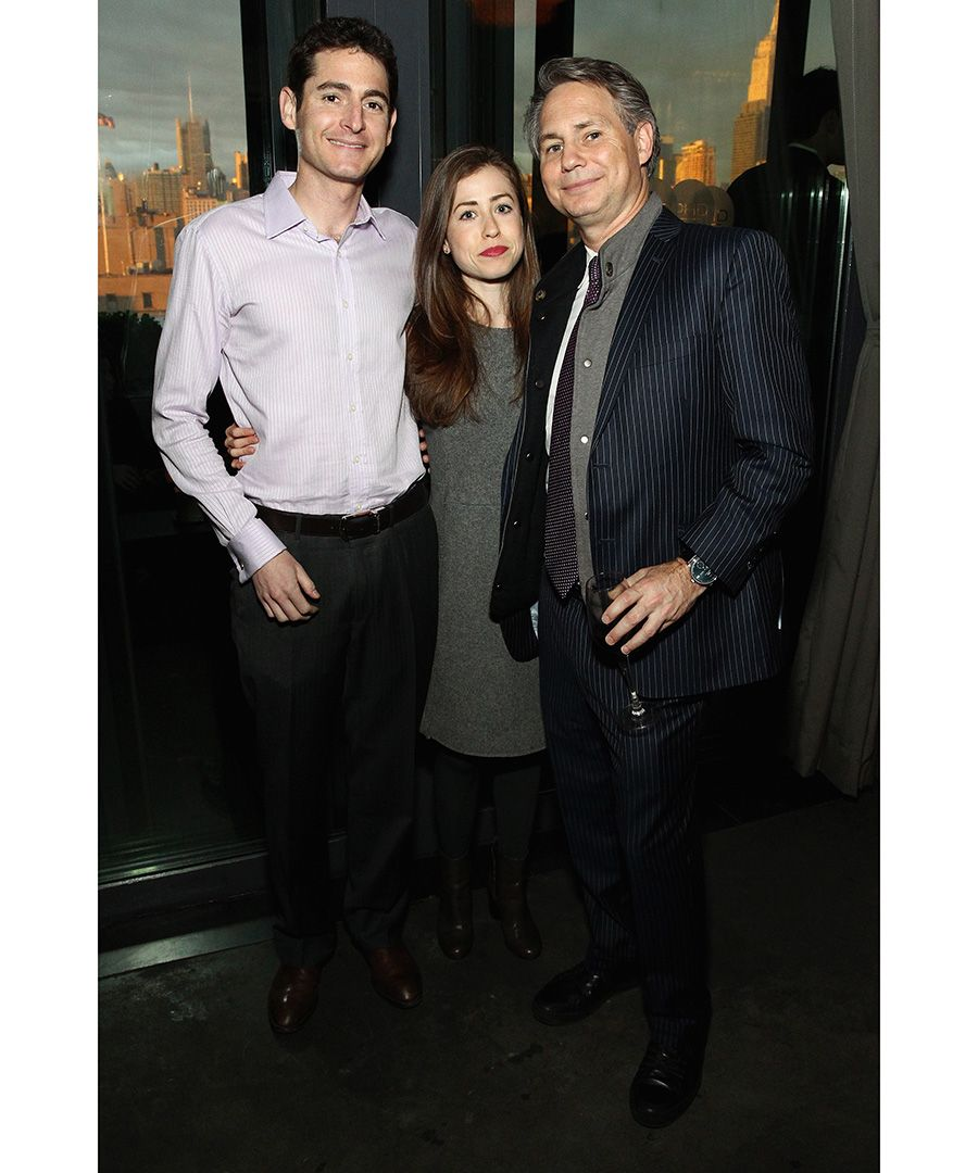Guests celebrated the DuJour April cover star with a soirée hosted by Jason Binn at the PH-D Rooftop and Lounge at Dream Downtown in New York City. Pictured: Matt Witheiler, Amanda Witheiler, Jason Binn
