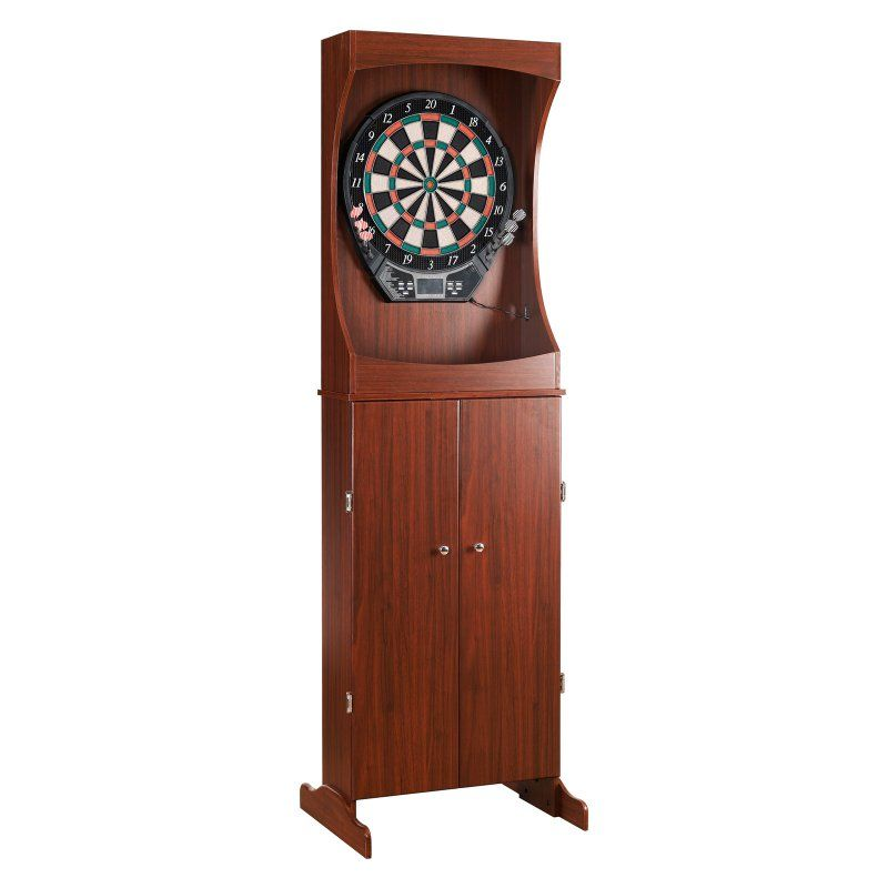 Hathaway Outlaw Arcade Electronic Dart Board Complete Set - BG1040