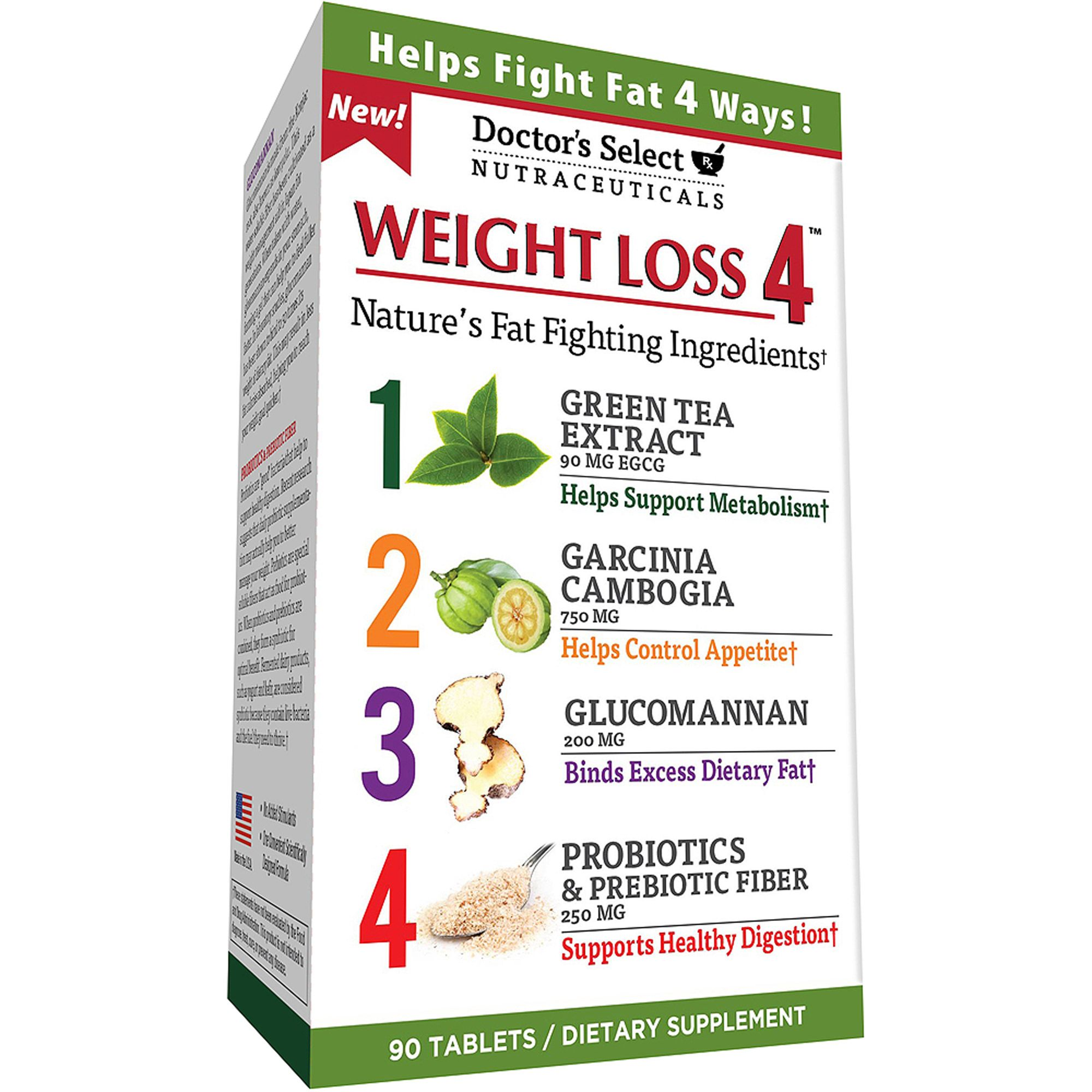 How to lose weight 4 steps