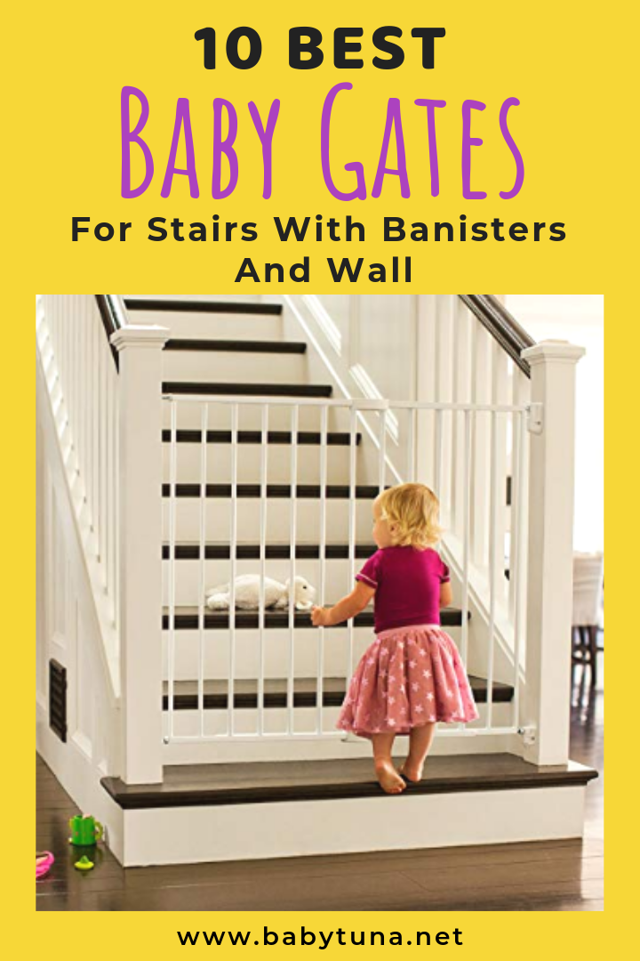 10 Best Baby Gates for Stairs with Banisters & Wall Best