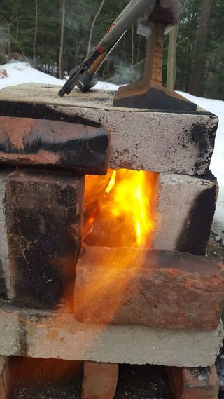 Cheap and Easy Backyard Forge   Easy backyard, Build a ...
