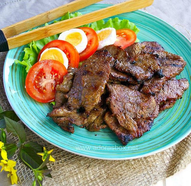 sweet and spicy beef tapa (Filipino) | Cook Me | Beef tapa