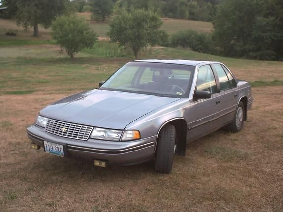 1990 Chevrolet Lumina Chevrolet Lumina Family Car Chevrolet