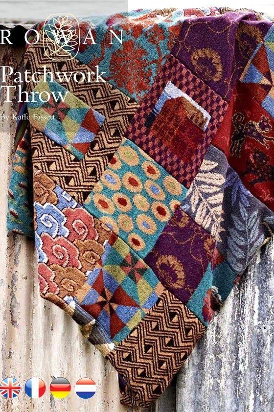 Lovely heart things | Kaffe Fasett | Pinterest | Stricken, Decken ...
