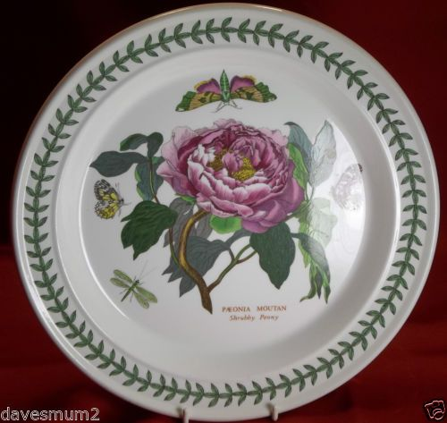 Portmeirion Botanic Garden Dinner Plate Shrubby Peony