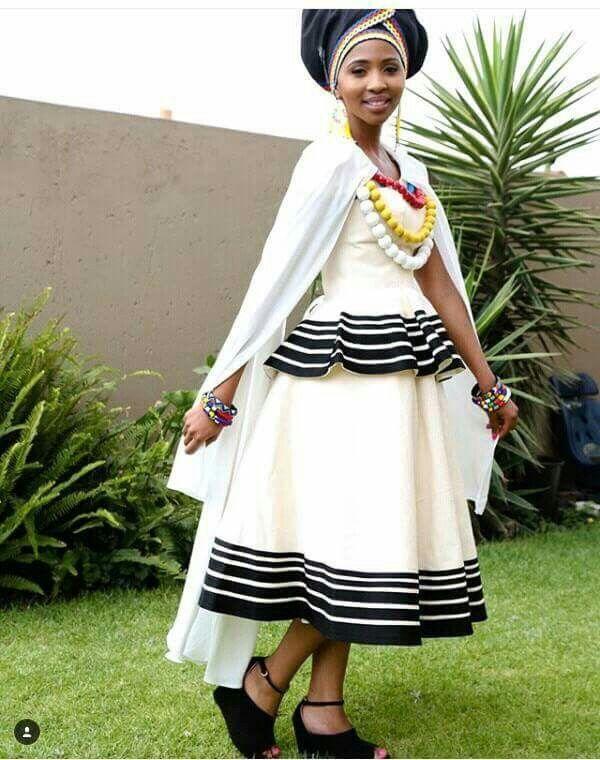 Xhosa Wedding Dresses Traditional Xhosa Traditional Wedd...