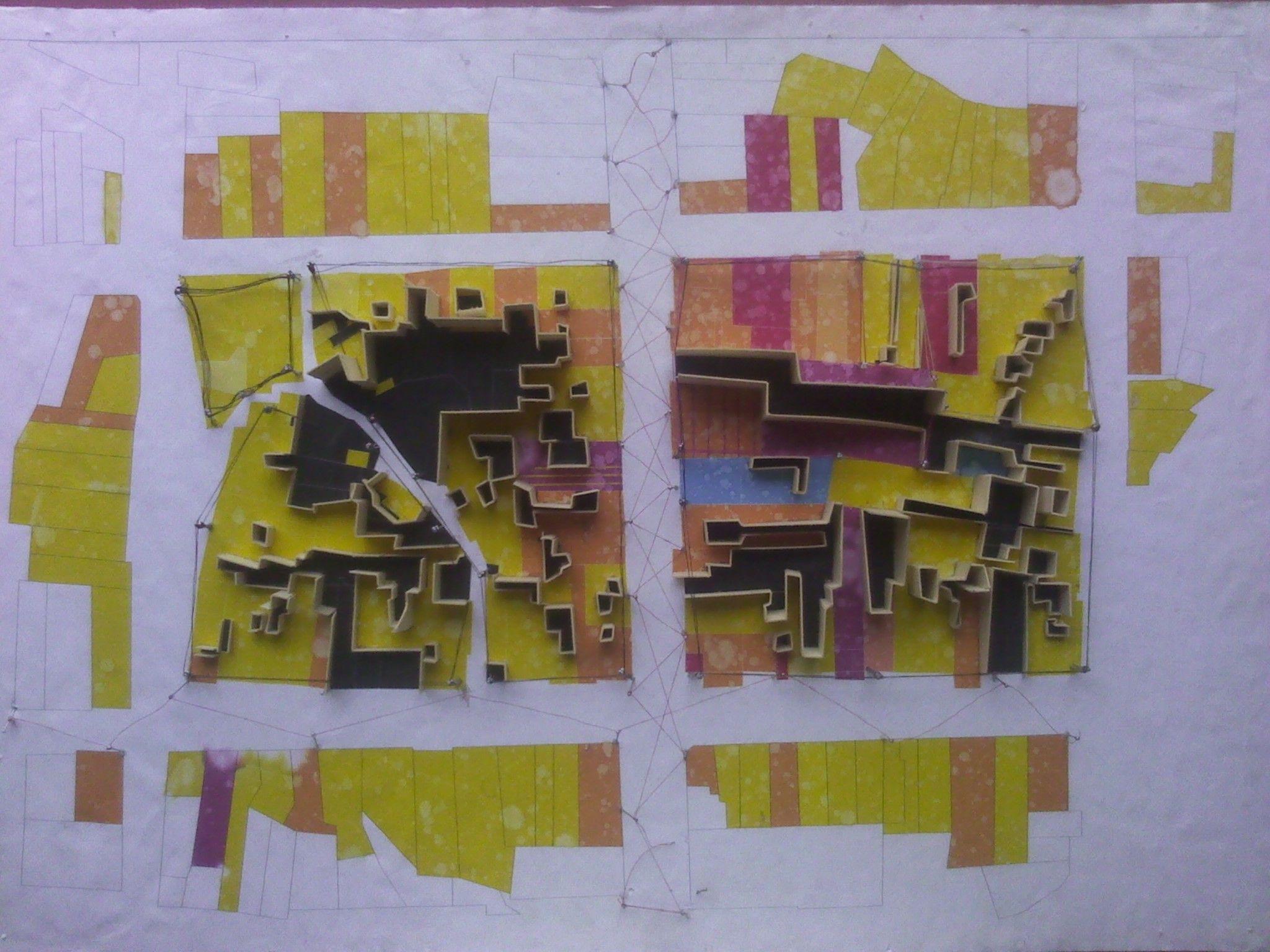 Exploración conceptual sobre las dinámicas urbanas, UFPS #Concept #Model