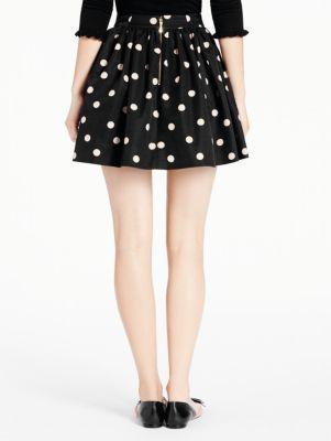 deco dot coreen skirt