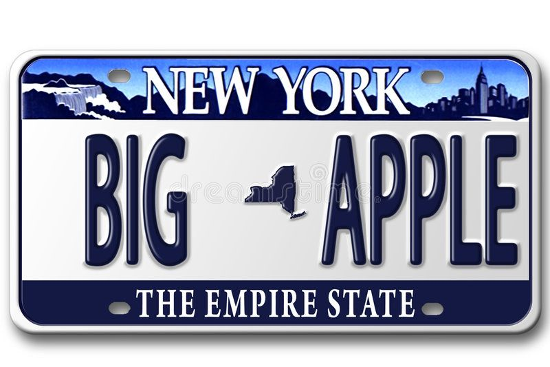 License Plates Ny Concept Image With Different State On License