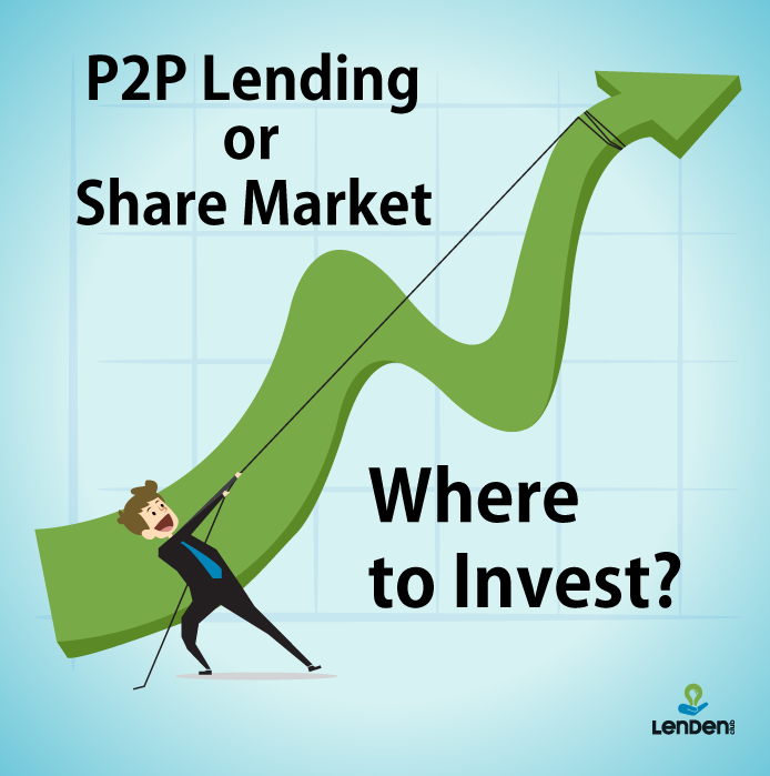Is P2p Lending A More Stable And Low Risk Investment Option Than Stock Market Peertopeerlending P2plending Peer2 P2p Lending Peer To Peer Lending Lending