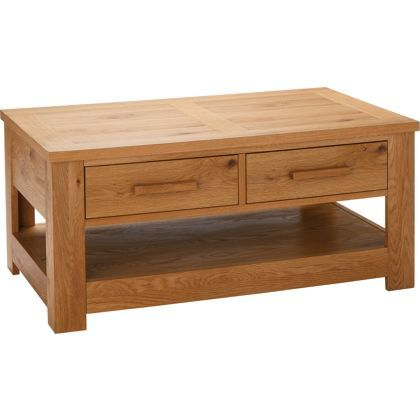 Schreiber Constable Coffee Table Oak At Homebase Be