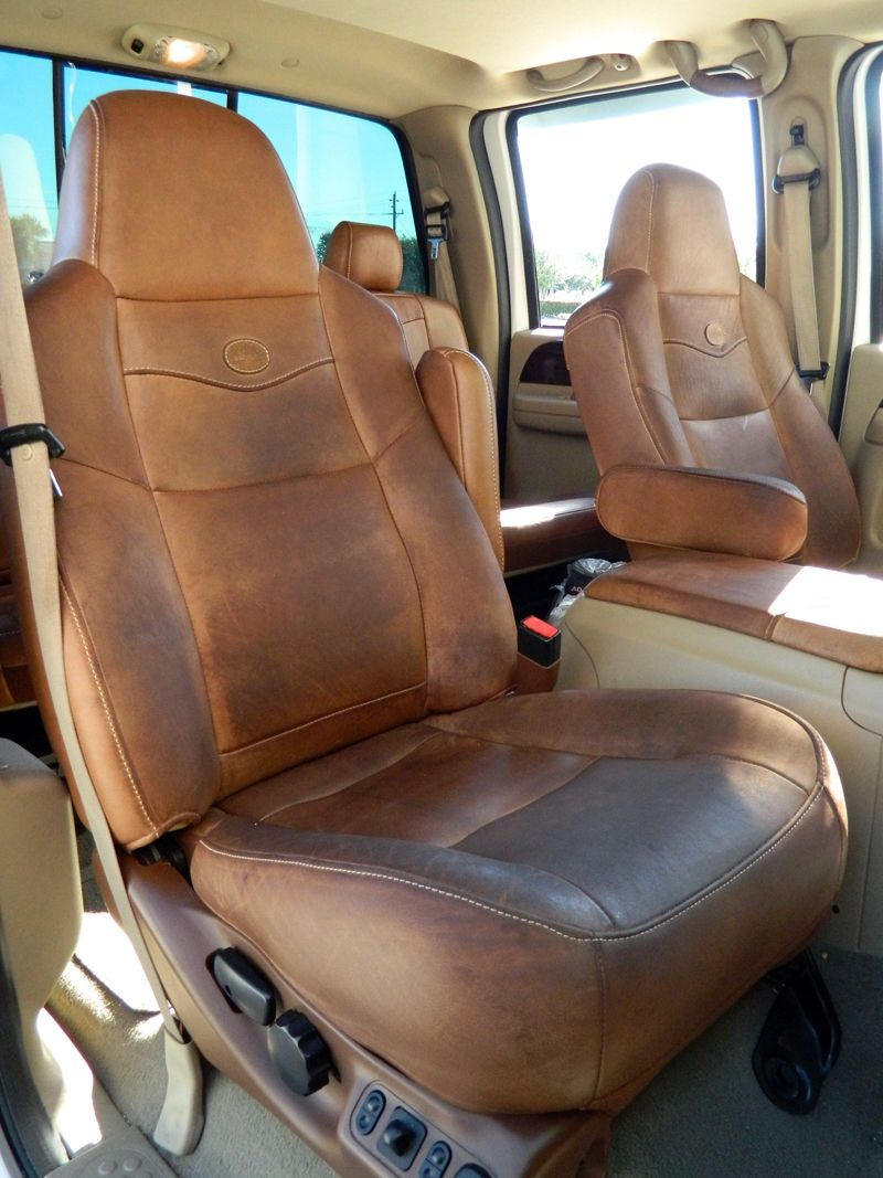 How To Clean And Condition Ford King Ranch Leather King Ranch Truck Ford King Ranch King Ranch