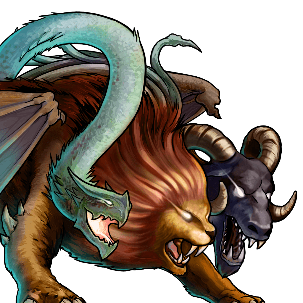 Chimera Mythical Monstrosity Dnd Monsters Dungeoncrawling Dnd Monsters Mythology Monstrosity Chi Fantasy Creatures Dragon S Dogma Mythical Creatures