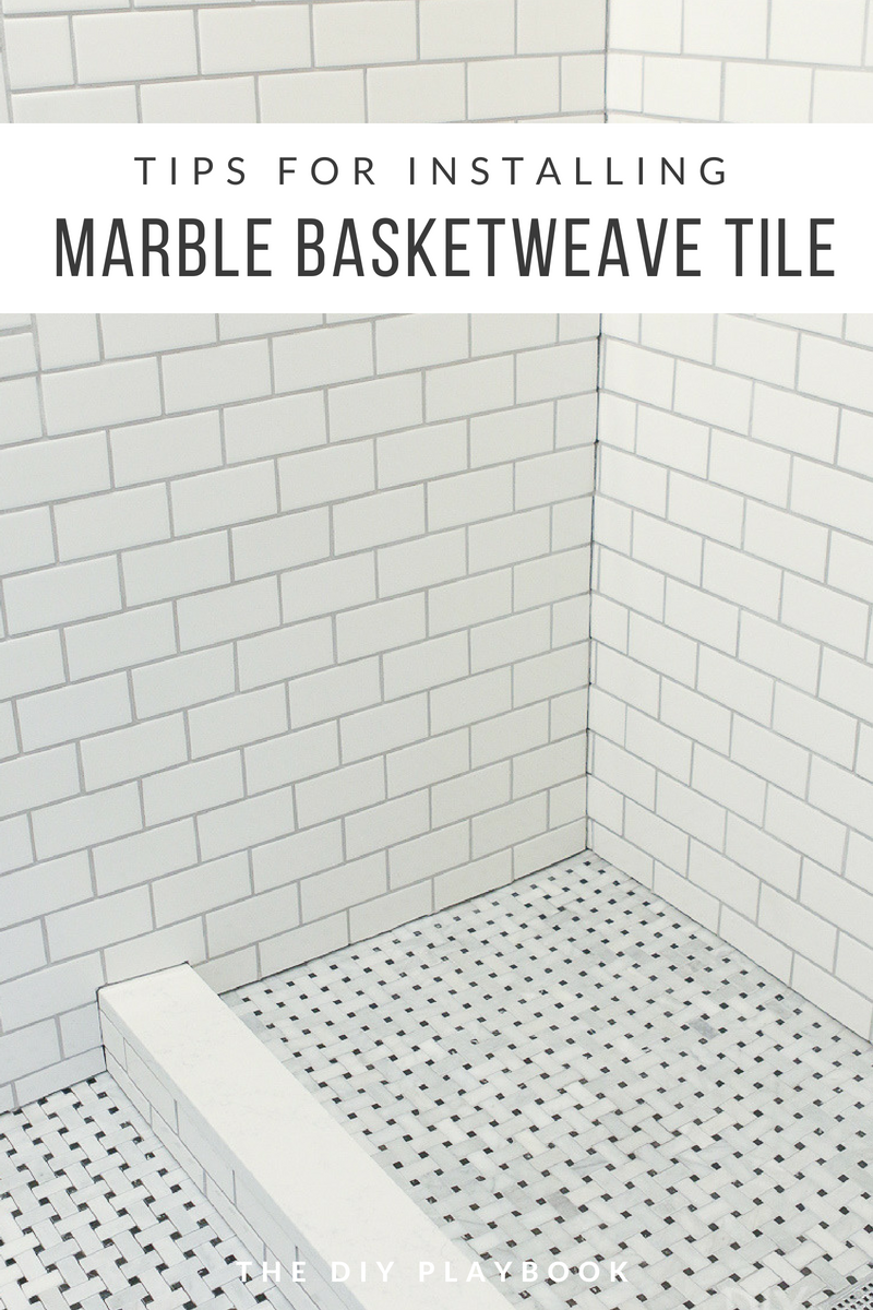 Tips And Tricks To Lay Marble Basketweave Floor Tile Tile Floor