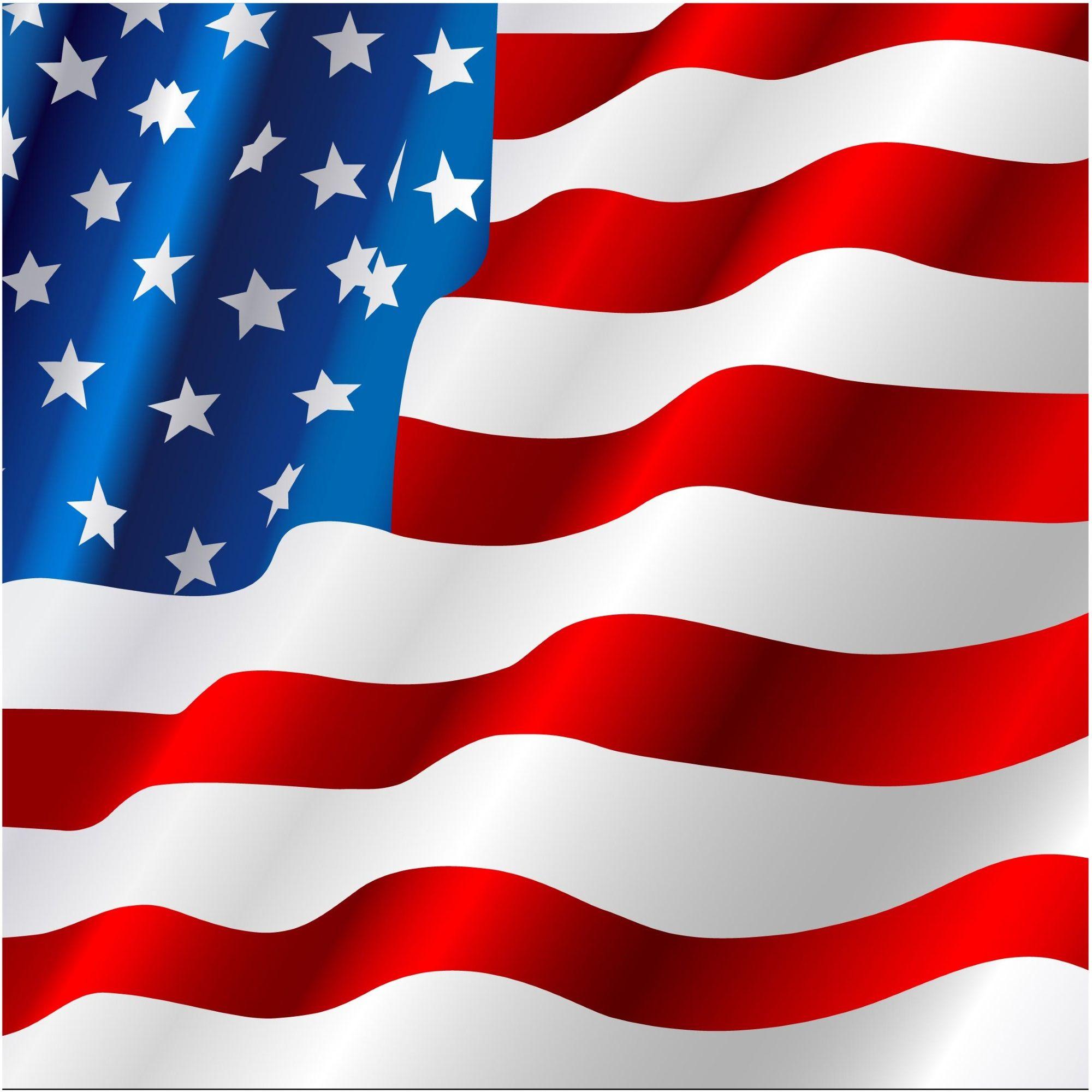 Waving American Flag Flag American Flag Flag Vector
