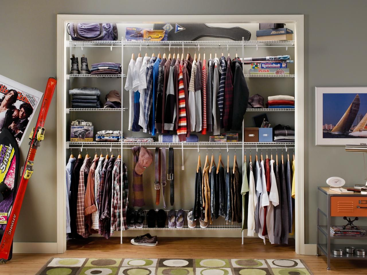 Small Closet Organization Ideas Pictures Options Tips Closet Remodel Closet Designs Wire Closet Shelving