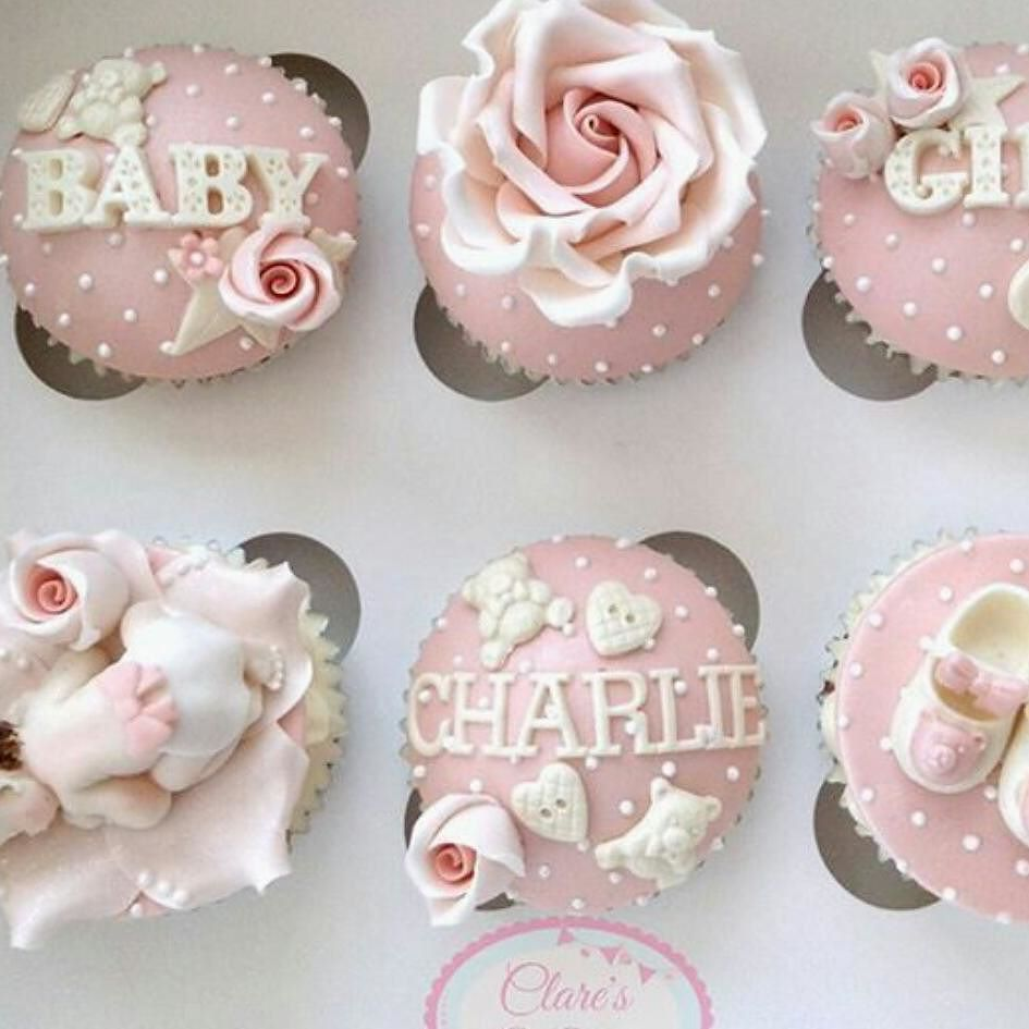 Pinterest Cupcakes Girl Pink Baby Rose Delicate