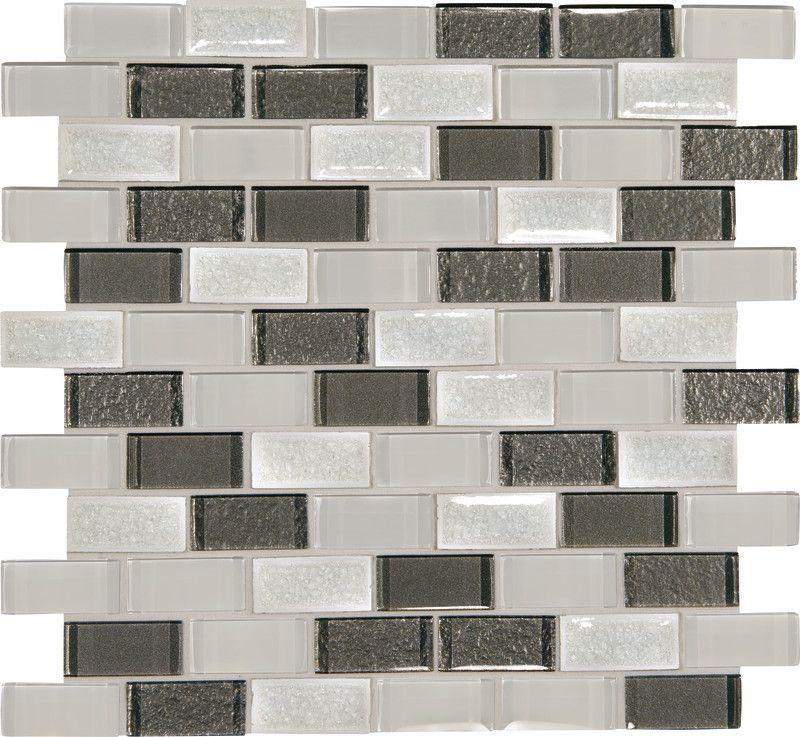 Crystal Shores Diamond Delta 1 X 2 Brick Glass Mosaic Tile Daltile Mosaic Glass Mosaic Wall Tiles