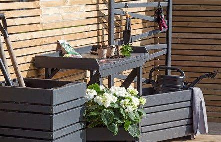 Fina utemöbler till verandan